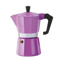 Pezzetti Italexpress 3 Cup Moka Pot Purple