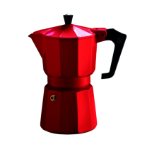 Pezzetti Italexpress 3 Cup Moka Pot Red
