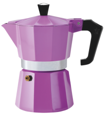 Pezzetti Italexpress 6 Cup Moka Pot Purple