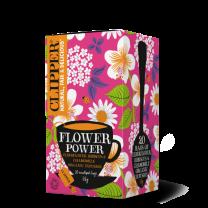 Clipper Organic Flower Power Teas 1 x 20