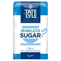 Tate & Lyle Granulated Sugar - 15 x 1kg