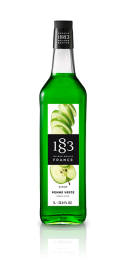 1883 Sour Green Apple Syrup 1 Litre