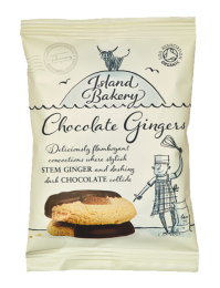 Island Bakery Organic Chocolate Ginger 40 x 35g