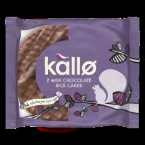 Kallo Milk Choc Thick Rice Cakes 30 x 33g