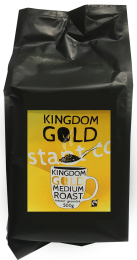 Kingdom Gold Fairtrade Instant Coffee 10 x 300g