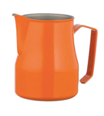 Motta Teflon Foaming Jug - Orange (500ml)