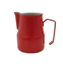 Motta Teflon Foaming Jug - Red (350ml)