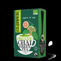 Clipper Fairtrade Organic Green Chai Tea 1 x 20
