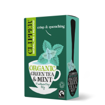 Clipper Organic Fairtrade Green & Mint Teabags 1 x 20
