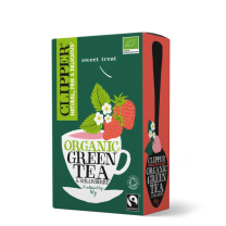 Clipper Organic Fairtrade Strawberry Green Tea 1 x 20