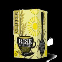Clipper 1 x 20 Rise and Shine Organic Infusion Tea