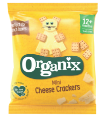 Organix Mini Cheese Crackers 50 x 20g