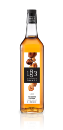 1883 Roasted Hazelnut Syrup 1 Litre