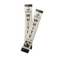 Kingdom Branded Fairtrade White Sugar Sticks