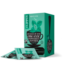 Clipper Fairtrade Organic Peppermint 1 x 25 Teas