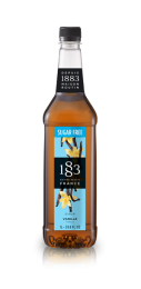 1883 Vanilla SUGAR FREE Syrup 1 Litre