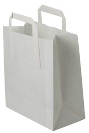 White Paper Lunch Bags 1 x 250
