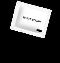 White Sugar Sachets 1 x 1000