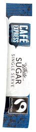 Fairtrade Cafe Express White Sugar Sticks