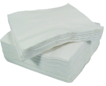 33cm 2-Ply White Napkins 1 x 2000