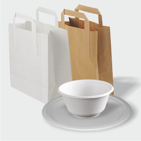 Plates, Bowls & Bags