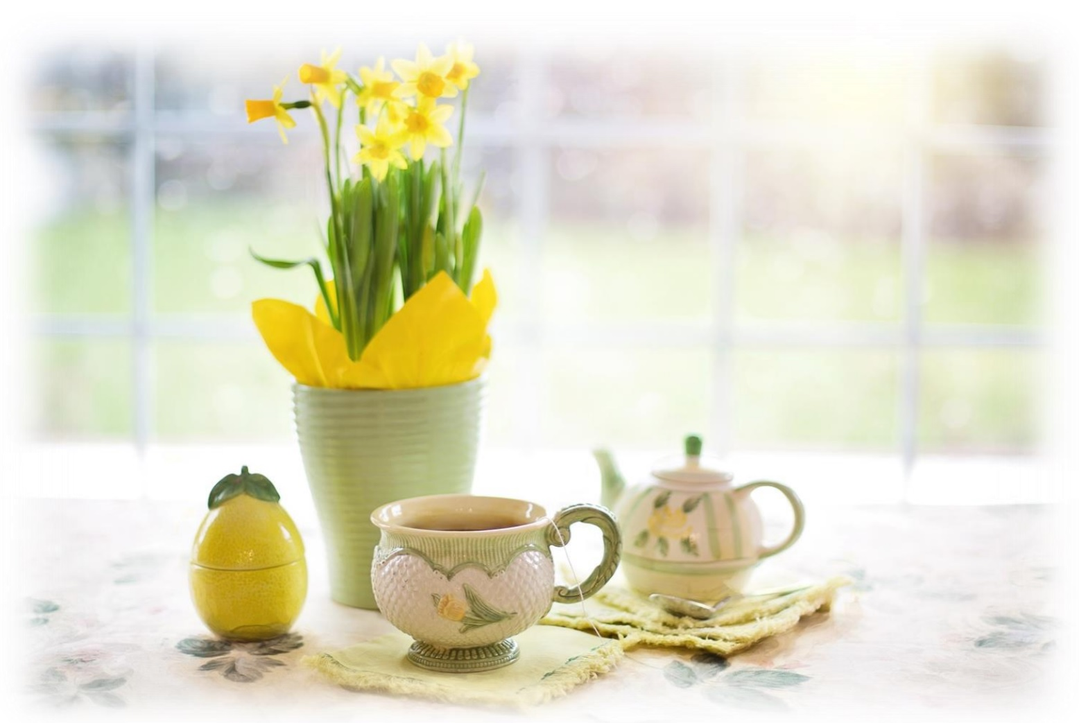 Late Winter & Spring Seasonal syrup recipes for tea and coffee